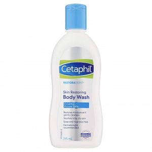 Cetaphil Restoraderm Skin Restoring Body Wash, 295 ml