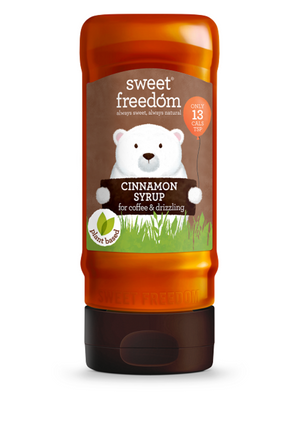 Sweet Freedom Cinnamon Syrup For Coffee & Drizzling 350g