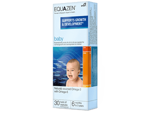 Equazen Baby Omega-3 with Omega-6 | 30 Twist Off Capsules