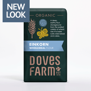 Doves Farm Organic English Wholemeal Einkorn Flour 1kg