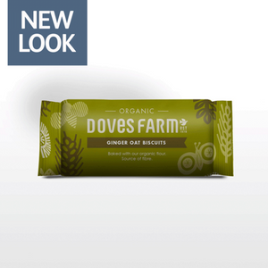 Doves Farm Organic Ginger Oat Biscuits 200g