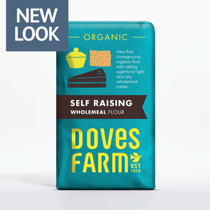 Doves Farm Organic Self Raising Wholemeal Flour 1kg