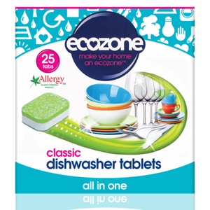 Ecozone Classic Dishwasher Tablets | 25 Tablets