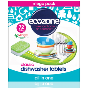 Ecozone Classic Dishwasher Tablets | 72 Tablets