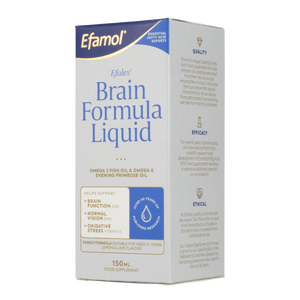 Efamol Efalex Brain Formula Liquid 150ml | Lemon & Lime Flavour