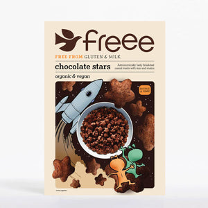 Freee by Doves Farm Gluten Free Organic Chocolate Stars 300g