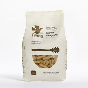 Freee by Doves Farm Gluten Free Organic Brown Rice Tortiglioni 500g