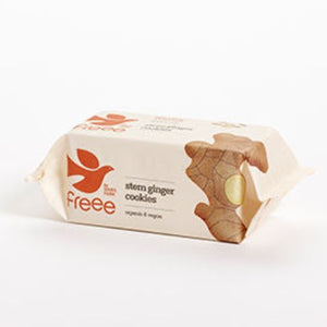 Freee by Doves Farm Gluten Free Organic Stem Ginger Cookies 150g