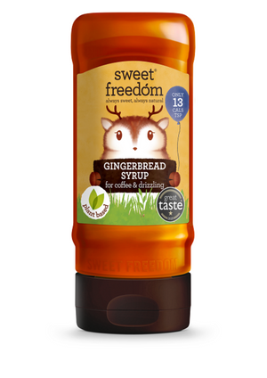 Sweet Freedom Gingerbread Syrup For Coffee & Drizzling 350g