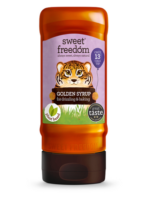 Sweet Freedom Golden Syrup For Drizzling & Baking 350g