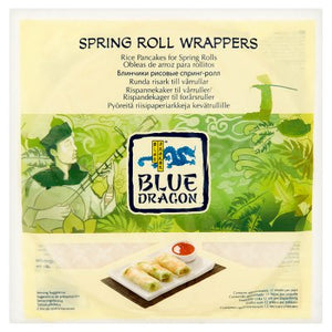 Blue Dragon Spring Roll Wrappers 134g