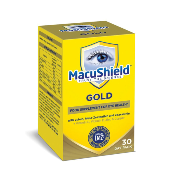 MacuShield® Gold Food Supplement 90 Capsules | Eye Health