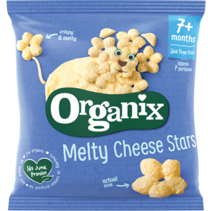 Organix Melty Cheese Stars 7 Months+ 20g