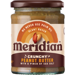 Meridian Crunchy Peanut Butter with a Pinch of Sea Salt 280g