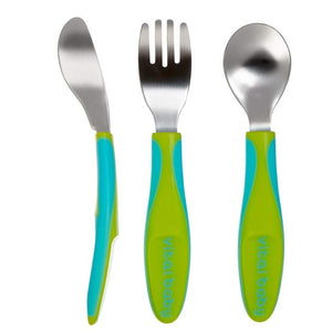 Vital Baby Big Kid Cutlery | Green
