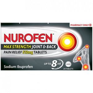Nurofen Joint & Back Max 24 Tablets
