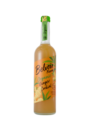 Belvoir Farms Organic Ginger Cordial 500ml