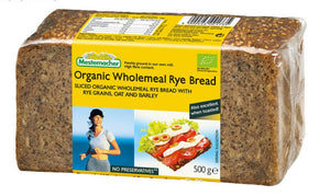 Mestemacher Organic German Wholemeal Rye Bread 500g