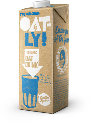 The Original Oatly Organic Oat Drink 1L