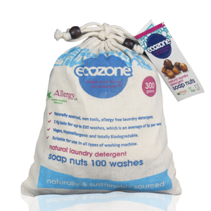Ecozone Soap Nuts 300g | Natural Laundry Detergent