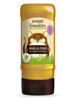 Sweet Freedom Vanilla Syrup For Coffee & Drizzling 350g
