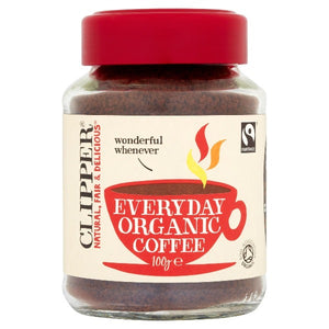 Clipper Fairtrade Everyday Organic Coffee 100g