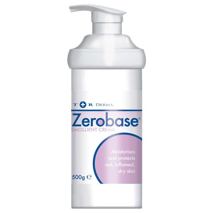 Zerobase Cream Pump Disp 500g