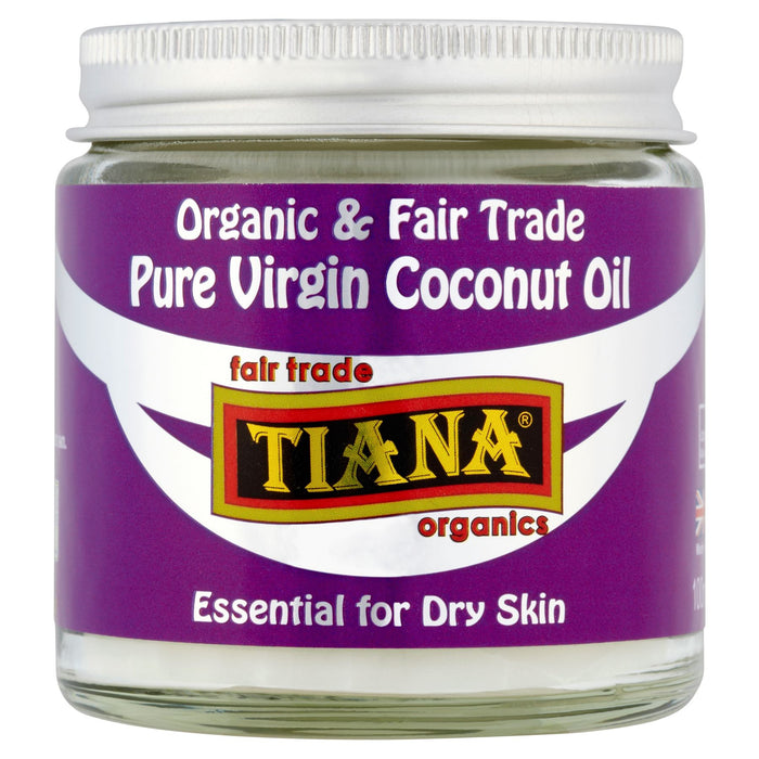 Tiana Organic & Fair Trade Pure Virgin Coconut Oil 100ml