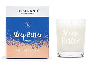 Tisserand Frosted Glass Sleep Better Candle 170g