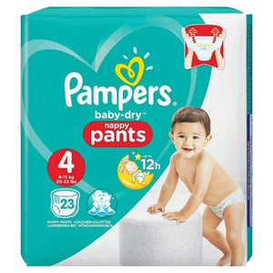 Pampers Baby-Dry Pants Size 4 | 23 Nappies