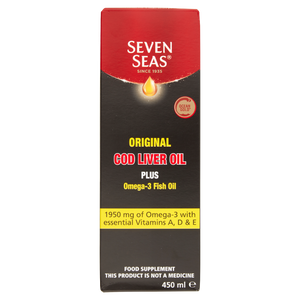 Seven Seas Original Pure Cod Liver Oil 450ml