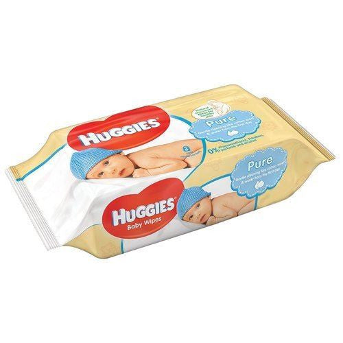 Huggies Wipes Pure Extra Free 72