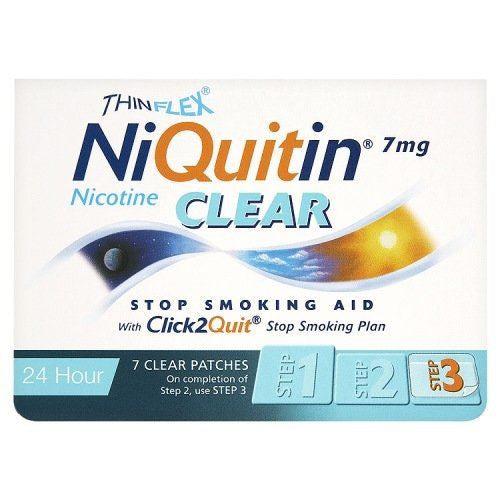 Niquitin Cq Clear Patch 7Mg