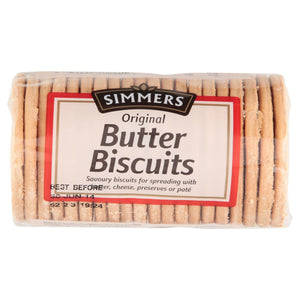 Simmers Original Butter Biscuits 250g