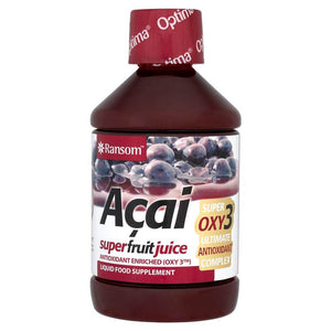 Ransom Acai Superfruit Juice Liquid Food Supplement 500ml