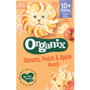 Organix Banana, Peach & Apple Muesli 10 Months+ 200g