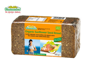 Mestemacher Organic Sunflower Seed Bread 500g