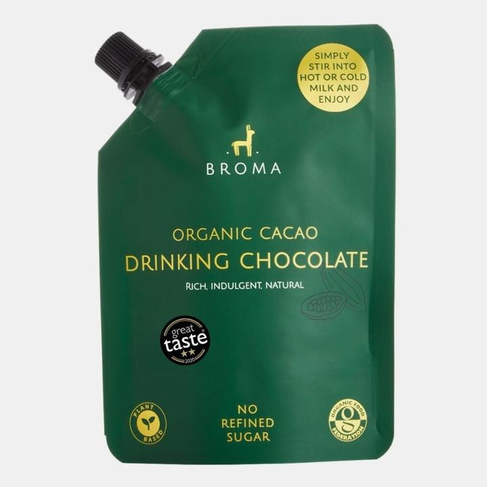 Broma Organic Cacao Drinking Chocolate - Original 250ml