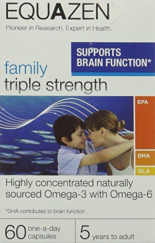 Equazen Family Triple Strength 60 One-A-Day Capsules
