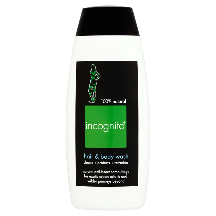 Incognito Hair & Body Wash 200ml