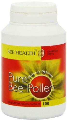 Bee Health Pollen 500mg 100 Capsule