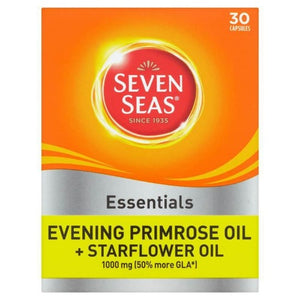 Seven Seas Essentials Evening Primrose Oil + Starflower Oil | 30 Capsules