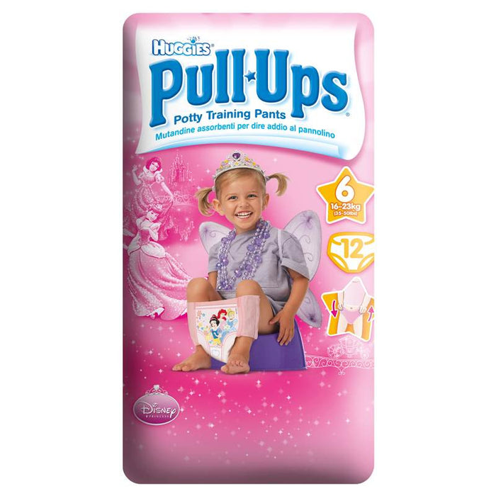 Huggies Pull-Ups Girl Sz6/Large 2