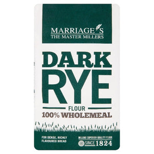 Marriage's The Master Millers Dark Rye Flour 1kg