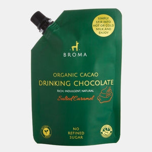 Broma Organic Cacao Drinking Chocolate - Salted Caramel 250ml