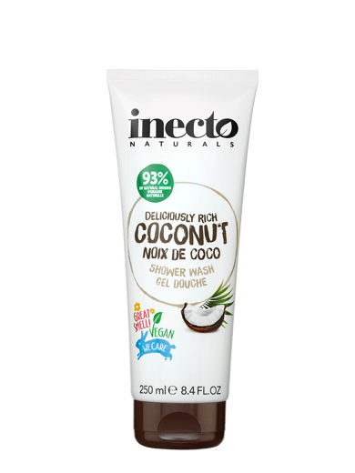Inecto Naturals Deliciously Rich Coconut Shower Wash 250ml