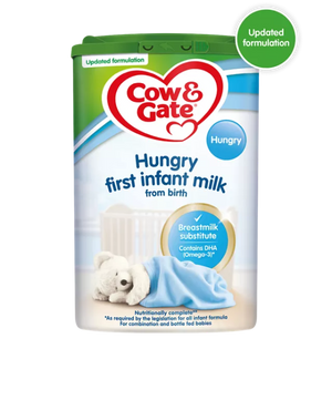 Cow & Gate From Birth Hungry Babies Formula 800g Stage 1