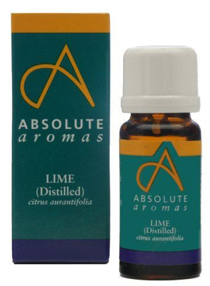 Absolute Aromas Lime (Distilled) Oil 10 ML