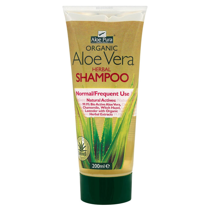 Aloe Pura Herbal Shampoo for Normal/Frequent Use 200ml