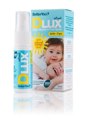 Better You DLux Infant Daily Vitamin D Oral Spray 6 Mths - 5 Yrs 15ml